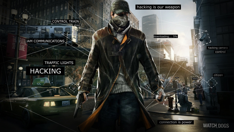 Black people in Watch Dogs do not cast shadow